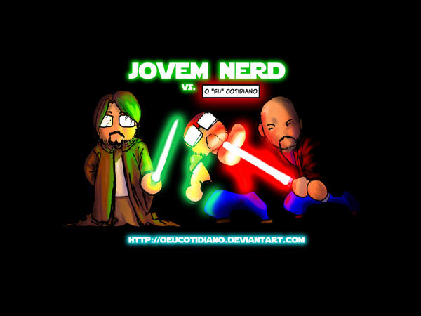 Wallpaper Jovem Nerd Standard by oeucotidiano