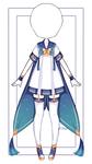 [Open] F2U outfit 04 + base by xMikuChuu