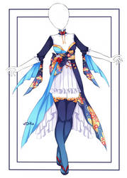 {Closed} Auction Outfit 533 + lineart by xMikuChuu