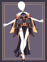 {Open} Auction Outfit 564 + lineart