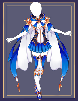 {Closed} Auction Outfit 574 + lineart