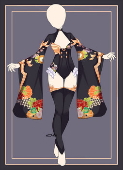 {Closed} Auction Outfit 595 + lineart