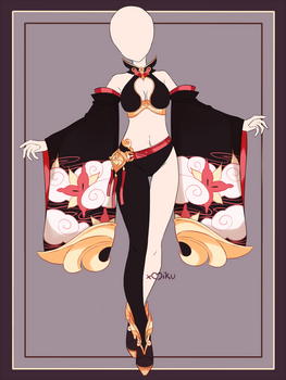 {Open} Auction Outfit 596 + lineart