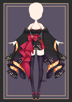 {Closed} Auction Outfit 604 + lineart