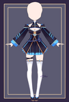 {Open} Auction Outfit 610 + lineart by xMikuChuu