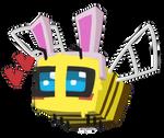 Bunny Bee by serpentinesanguinine