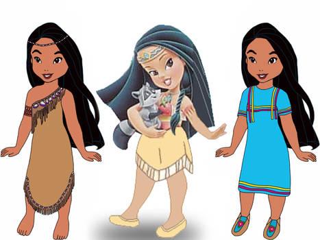 Child Pocahontas Redo