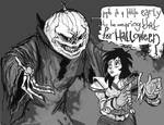 Samhain and Kylie Griffin by: bellendviii