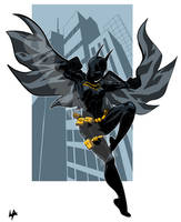 Batgirl (Cassandra Cain)  by liefeldianabomination by Schwartzwald
