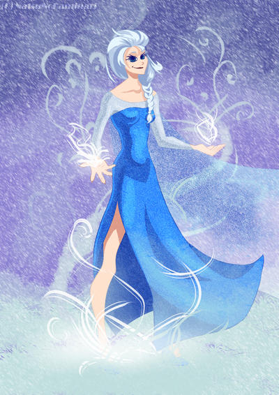 Elsa's power by Fulgururis