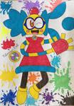 Megaman battle network:Colorman/Wackoman.Exe