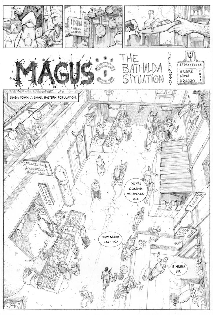 Magus I - page 1 by erdna1