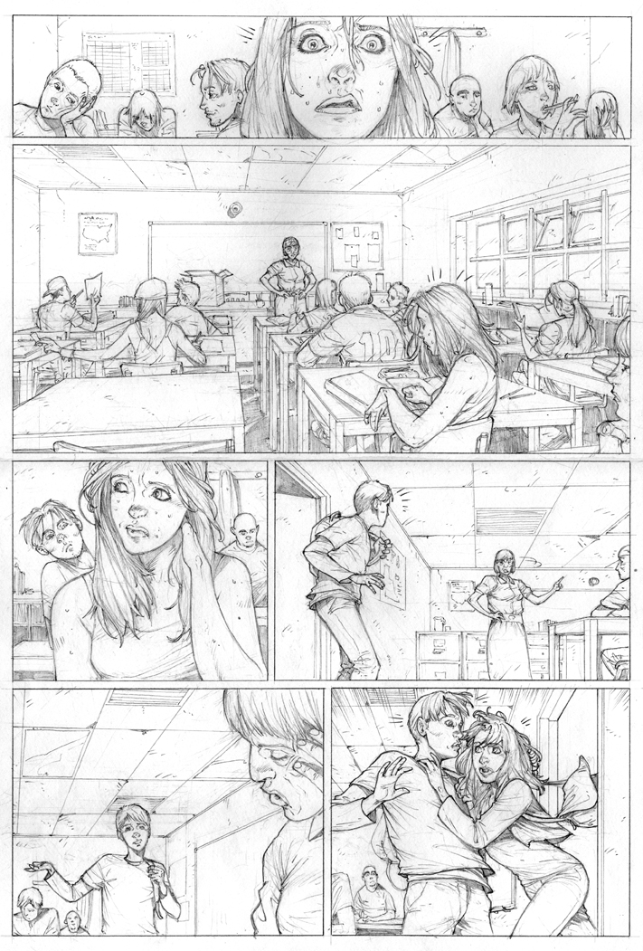 Ultimate Spider-Man sample pg10 by erdna1