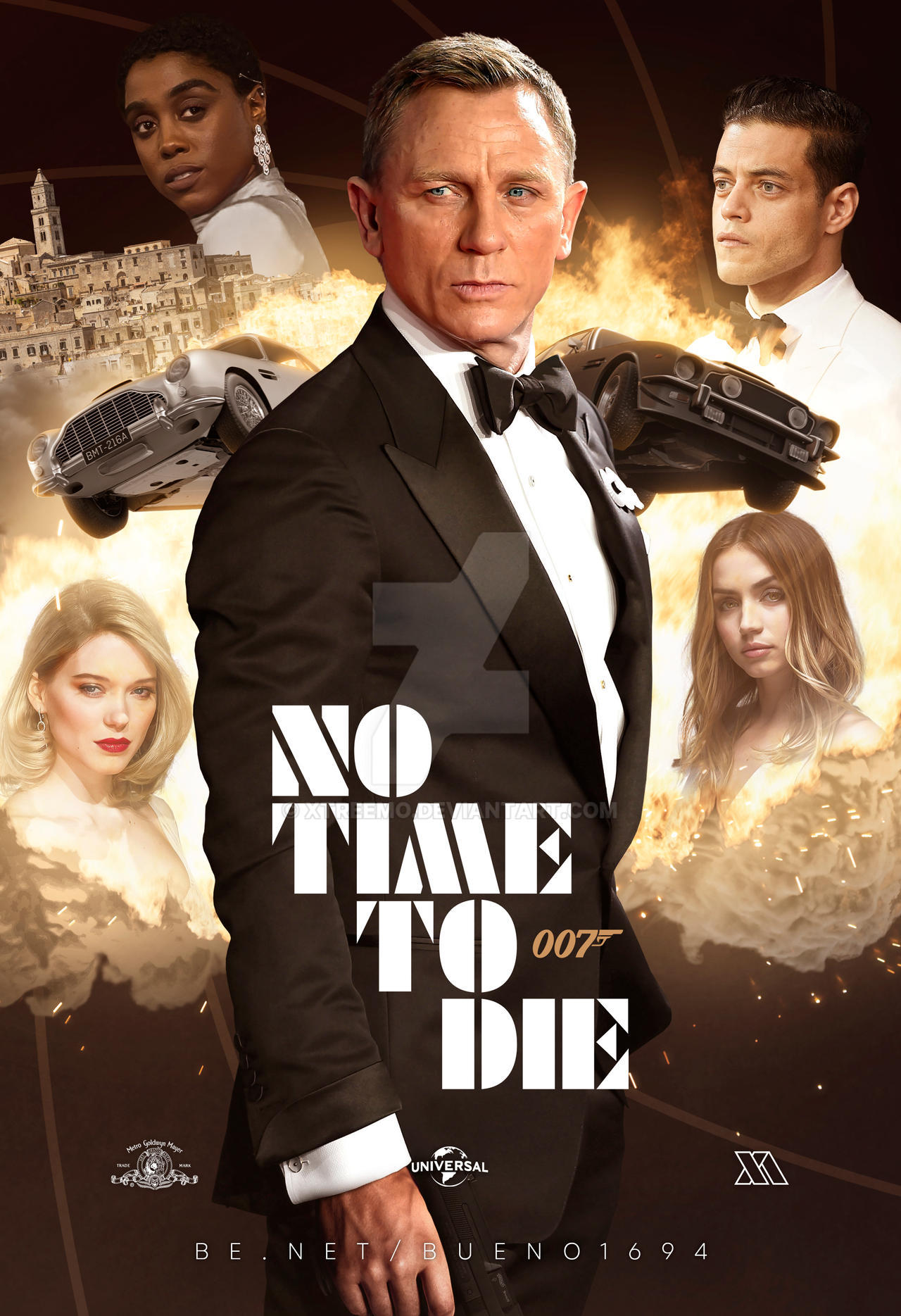 007: No Time To Die' Fan Poster II by Xtreemo on DeviantArt