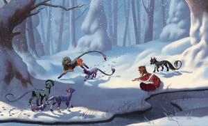 In the Snow - Kebanzu Winter Prompt