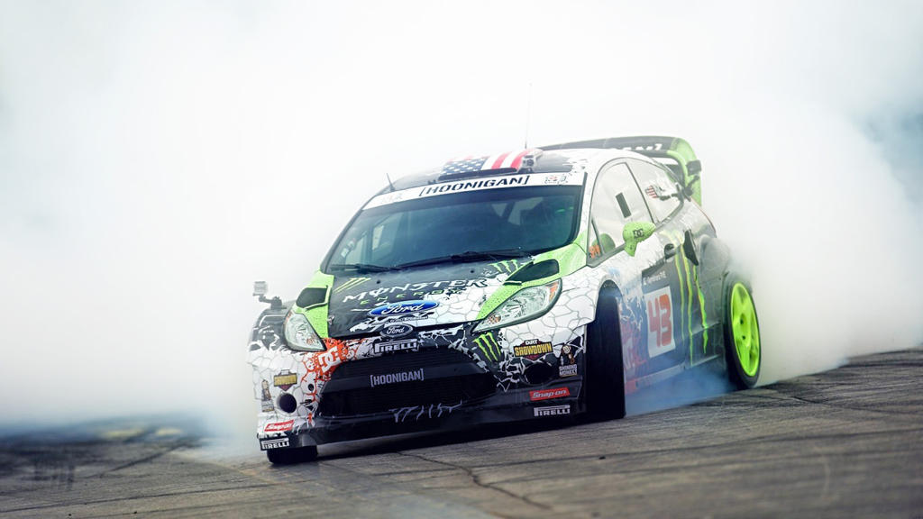 Gymkhana Ken Block Drifting HD Wallpaper by Freak4rt on ... Gymkhana 5 Wallpaper