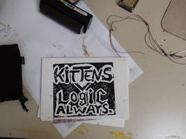 KittensGreaterThenLogic Card by xcmer
