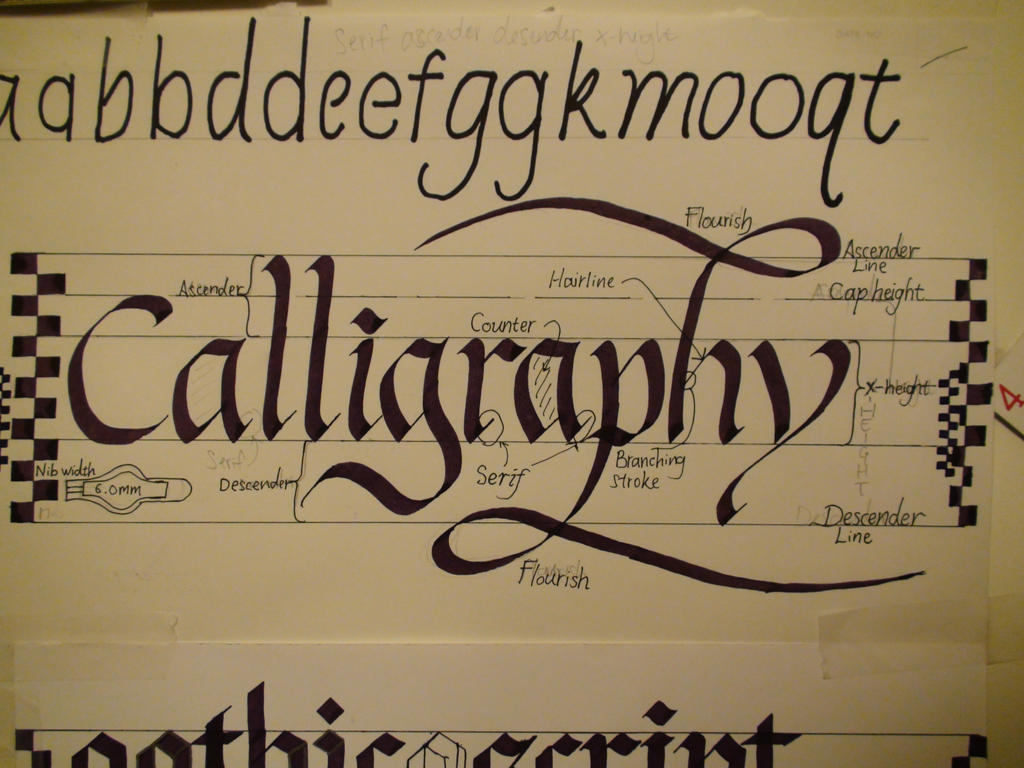 Calligraphy Speedball Textbook By Xcmer On Deviantart