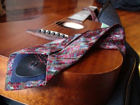 Guitar Strap Tie: Back