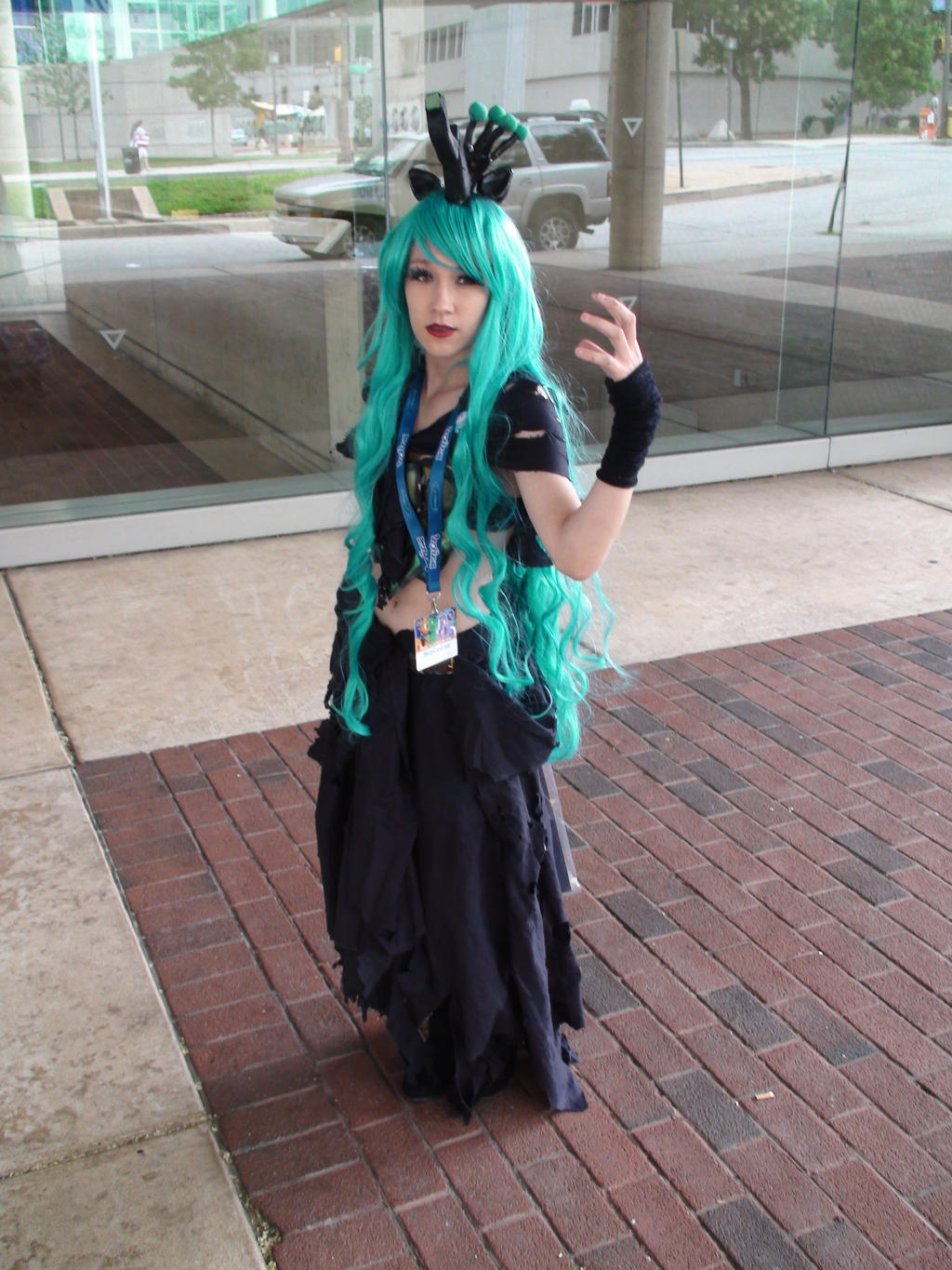 Queen Chrysalis At BronyCon 2014 by xcmer
