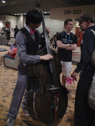 Octavia Holds The Bass Very Securely