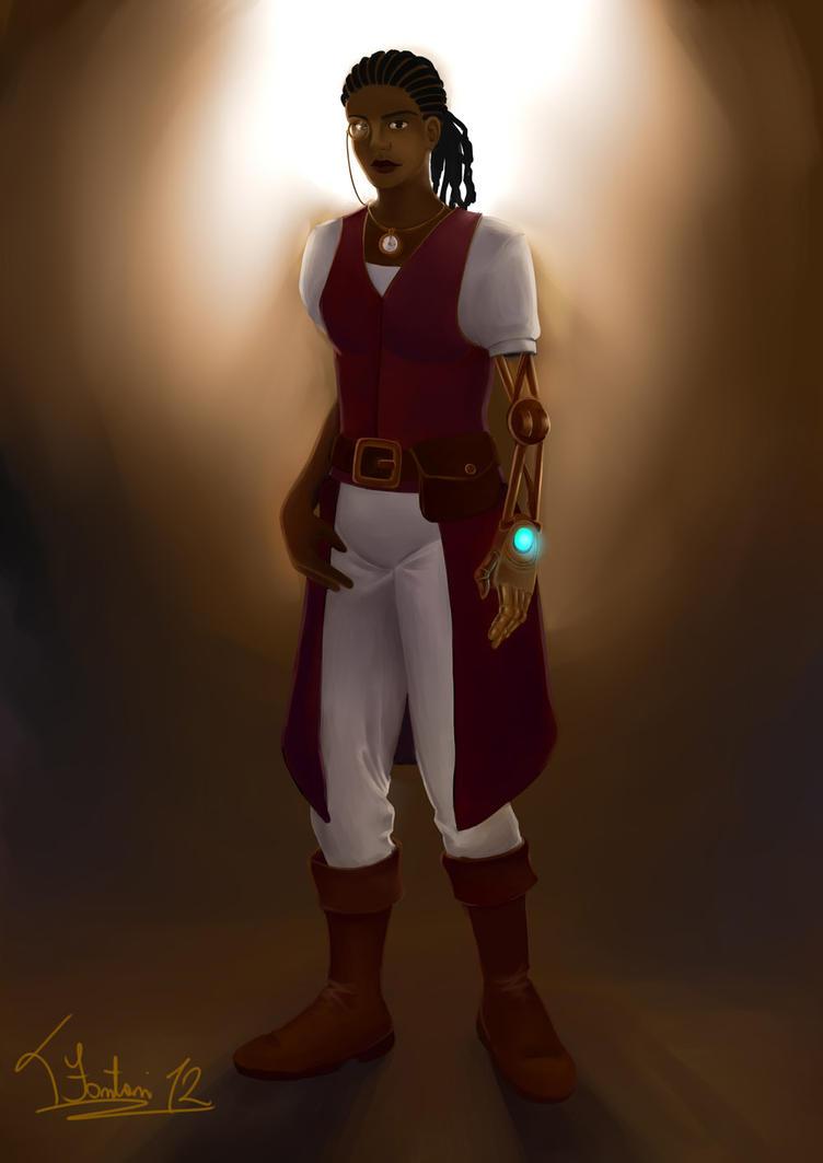 Negra steampunk final by tfantoni