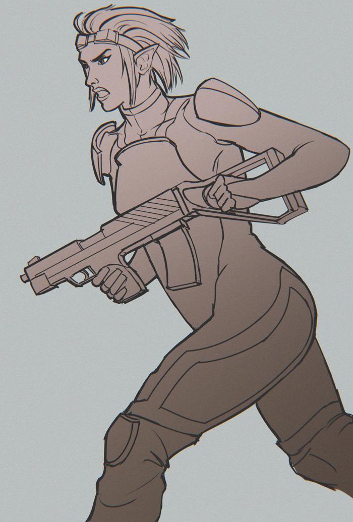 Run and Gun by tfantoni