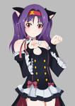 Konno Yuuki nyaa~ - Krul Tepez Costume ft Cat ear