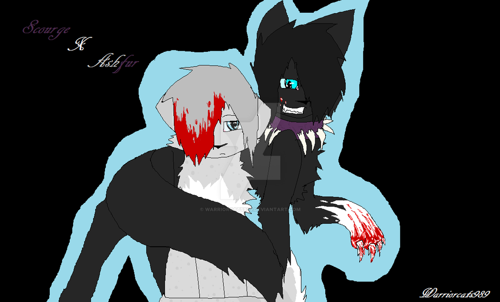 Warrior Cats Ashfur And Scourge
