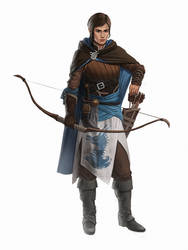 Keepers Of The Realm #3: Blue Archer