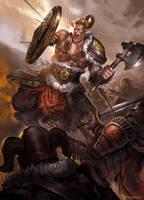 VIKING WARRIOR by iamagri