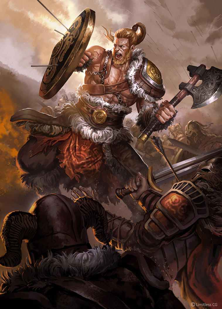VIKING WARRIOR by iamagri on DeviantArt