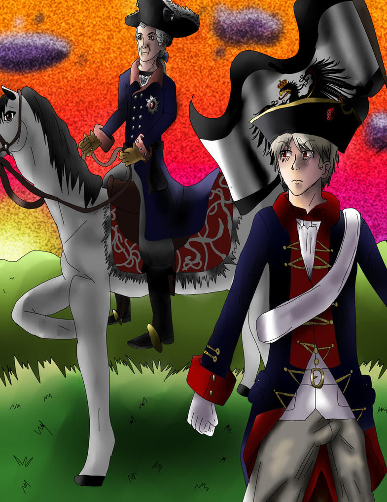 Prussia Und Old Fritz by Princess-Amy-of-Love