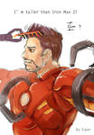 Iron Man New Hair