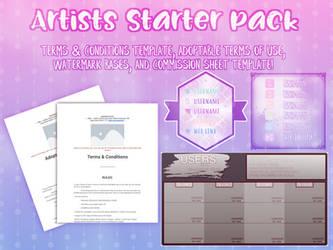Artists Starter Pack