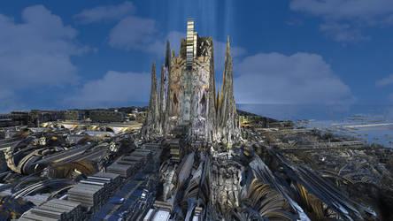 La Sagrada not so Familiar by eclecticeric