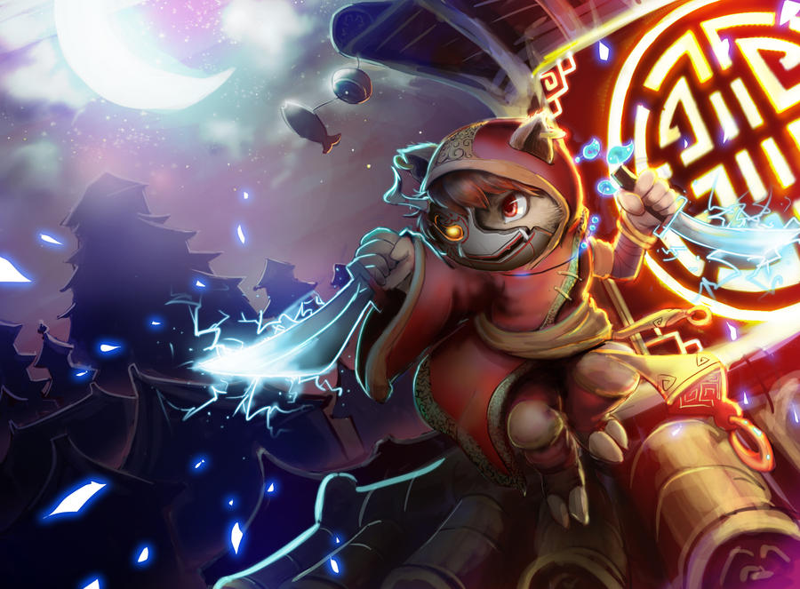 Blood moon kennen by Reislet