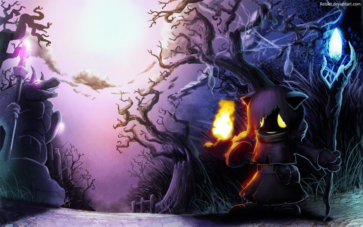 Twisted treeline Veigar by Reislet