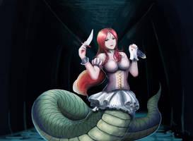 Snake women by Reislet