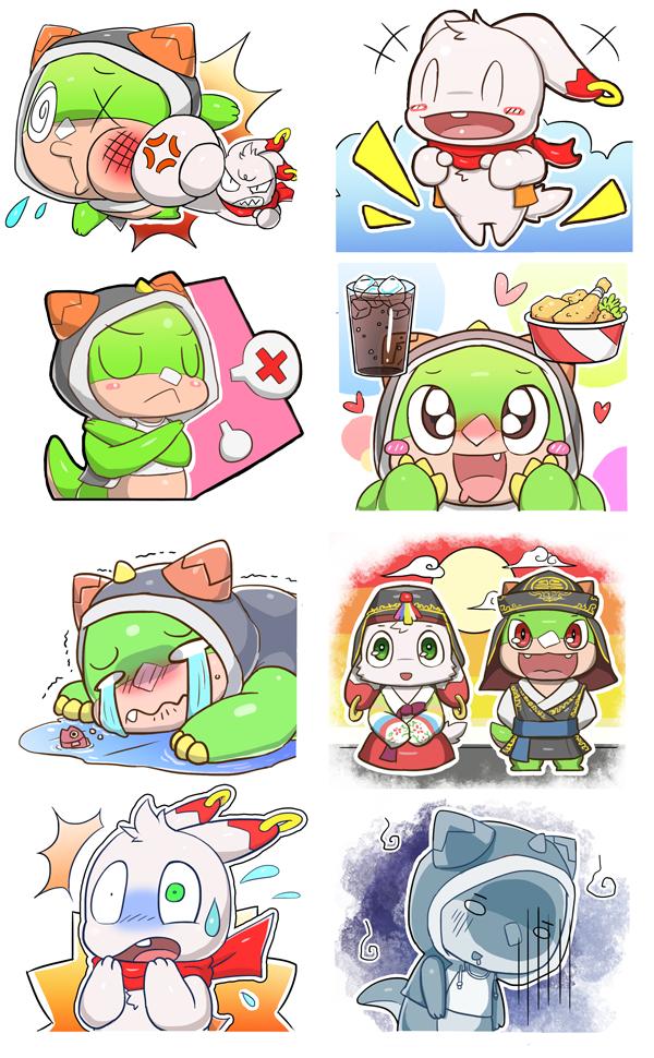 Likk Payl stickers by Reislet