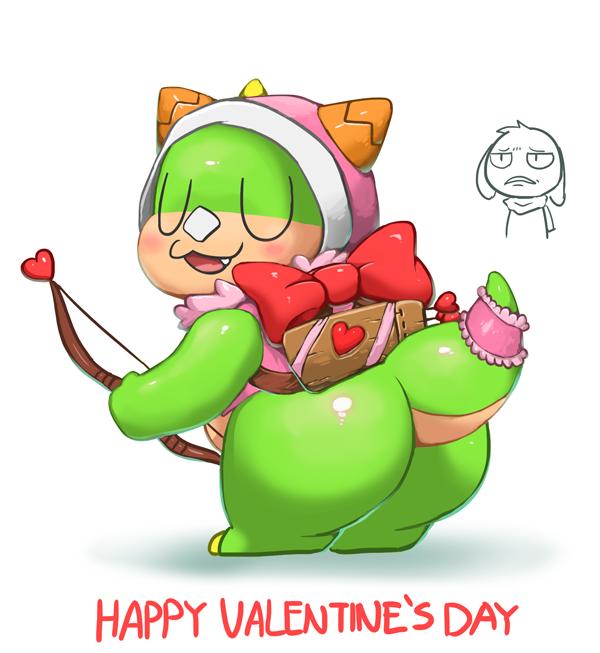 Happy valentine's day by Reislet