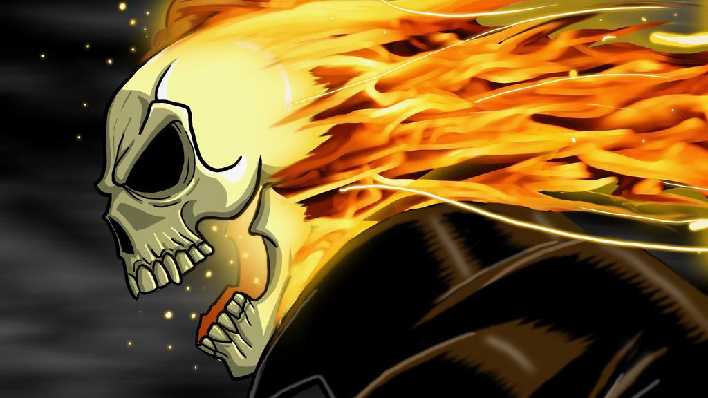 Ghost Rider by EvanLygeros
