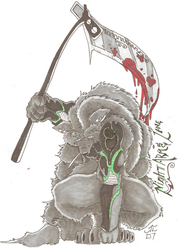 KnightArmsLane by Lycan-fennex