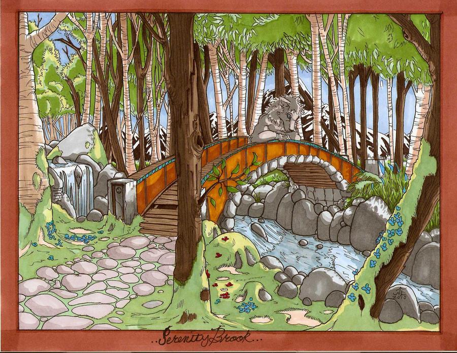 SerenityBrook by Lycan-fennex