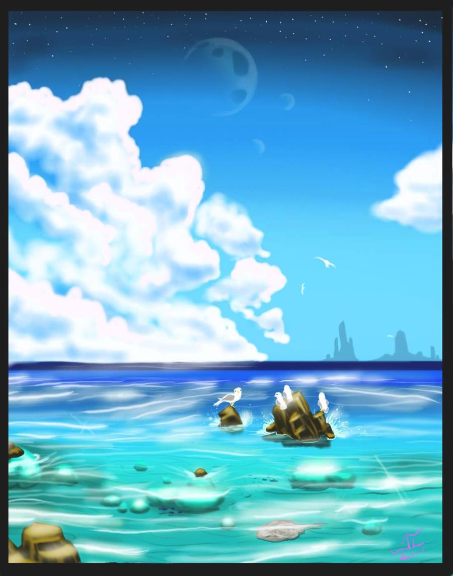 SeaINGBlue by Lycan-fennex