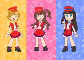 Princess Popstars! by SRM-Will-Never-Die