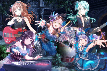 Roselia - A Song Unfinished by SRM-Will-Never-Die