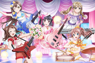 Poppin Party - Rimi's Gift Of Song by SRM-Will-Never-Die