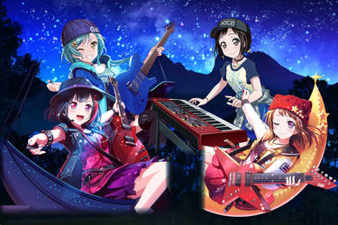 Bang Dream - Searching For Stars by SRM-Will-Never-Die