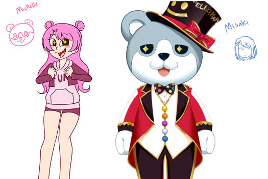 If Michelle was the human and Misaki was the bear